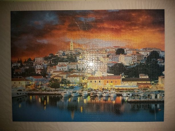 Duży obraz z puzzli