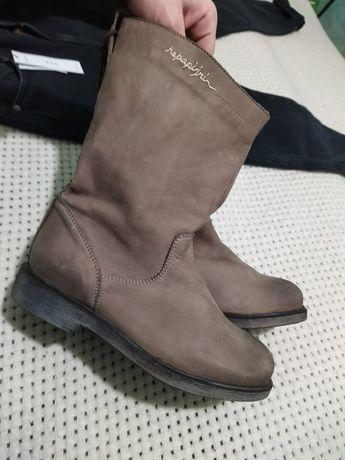 сапоги сапожки ботинки на низком каблуке натуральная кожа Napapijri 37