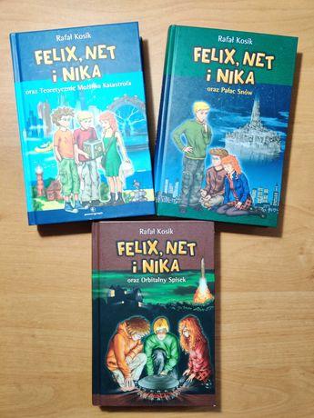 Felix, Net i Nika - seria / 3 książki / Rafał Kosik