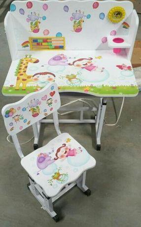 Wyprzedaż -40% stolik krzesełko zestaw dla dziecka meble BIURKO KRZESŁ