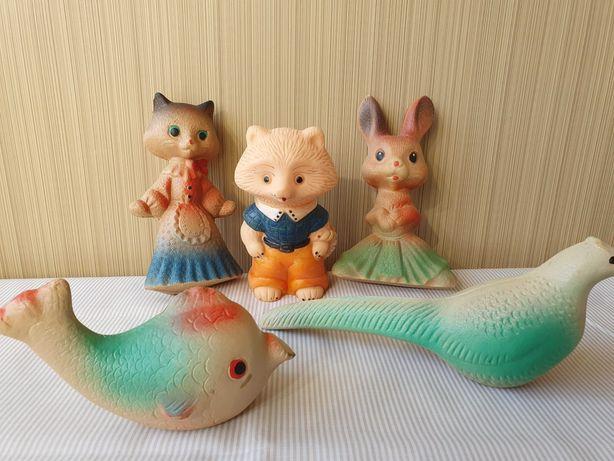 Игрушки-пищалки ,СССР