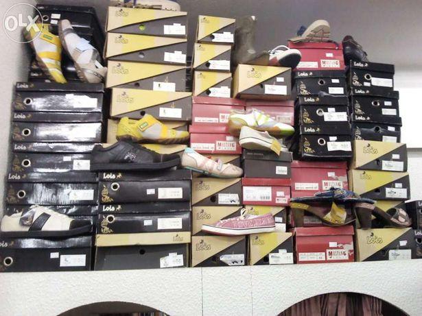 Calçado homem e senhora,botas e sapatilhas (mustang/lois)
