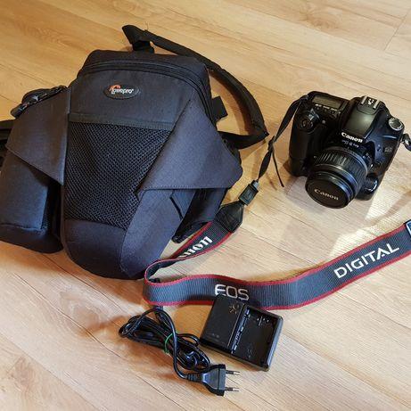 Canon EOS 30d + Canon 18-55 + battery grip+ torba Lowepro Off Road 2