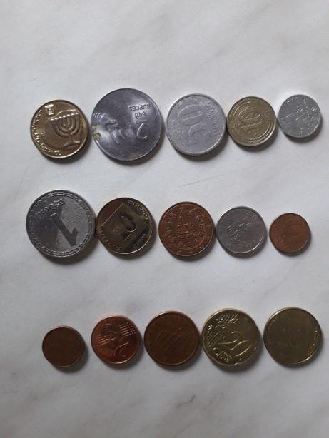продам зарубежные монеты и купюры