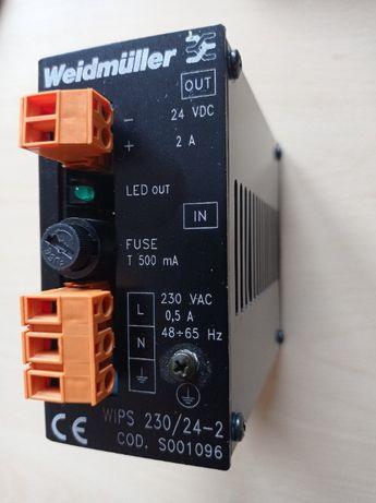 Weidmuller zasilacz 24VDC 2A