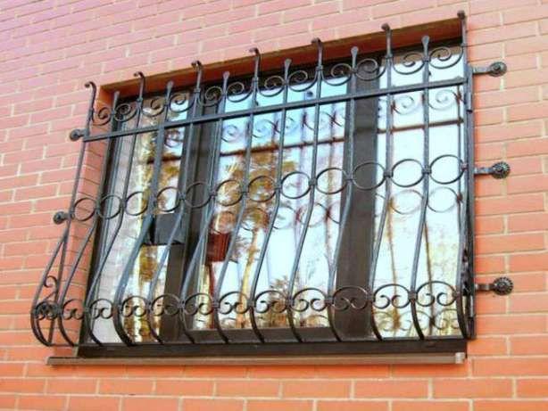 Решетки на окна. Металлические ворота, калитки. Лестницы. Навесы.Забор