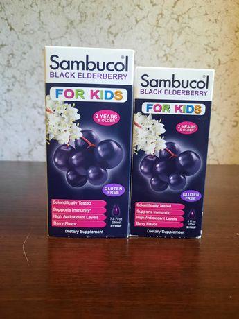 Sambucol, Сироп из черной бузины, для детей, ягодный аромат, iHerb