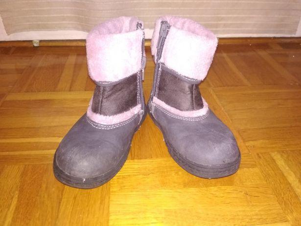Buty zimowe, kozaczki r. 24