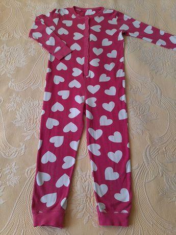 Пижама слип человечек 7-8 лет