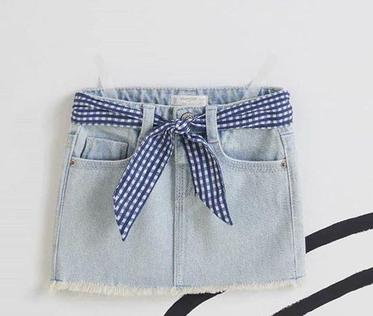 Новая джинсовая юбка Mango