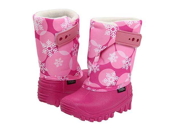 Сапоги tundra 12, сноубутсы для девочки.