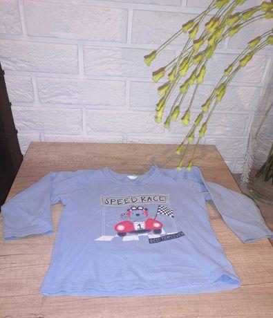 Koszulki bluzki z długim rękawkiem 3 sztuki
