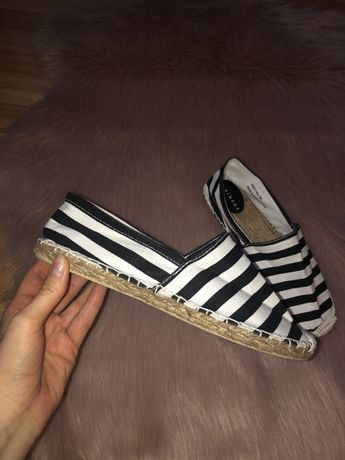 Espadryle rozmiar 38 buty na lato nowe