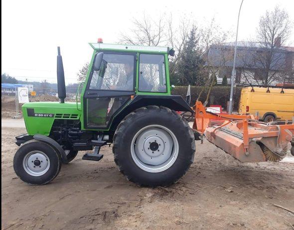 UWAGA!!! Skradziono Ciągnik Deutz Fahr D 6007c z zamiatarką drogową