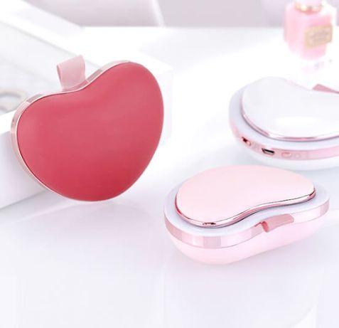 Зеркало «Сердце» с PowerBank и подогревом