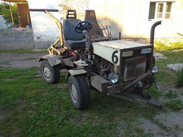 Трактор переломка саморобный