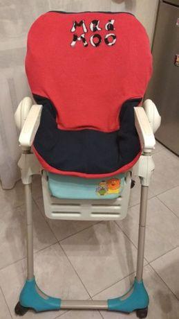 Флисовый Чехол на стульчики Сhicco Polly 2 в 1 и 3 в 1, Bambi
