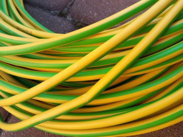 Linka 1x16 żółto zielona 80m