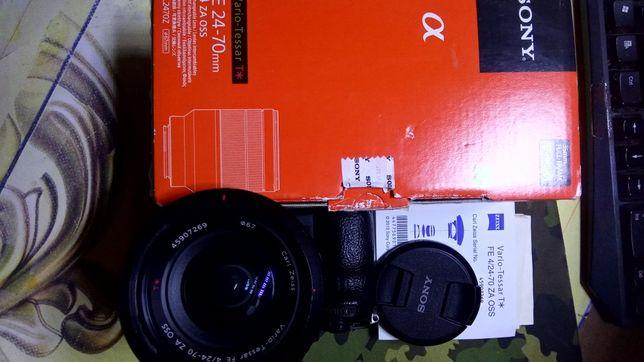 Canon EF 24-105 f4L  и  Sony FE 24-70 f4 zа OSS
