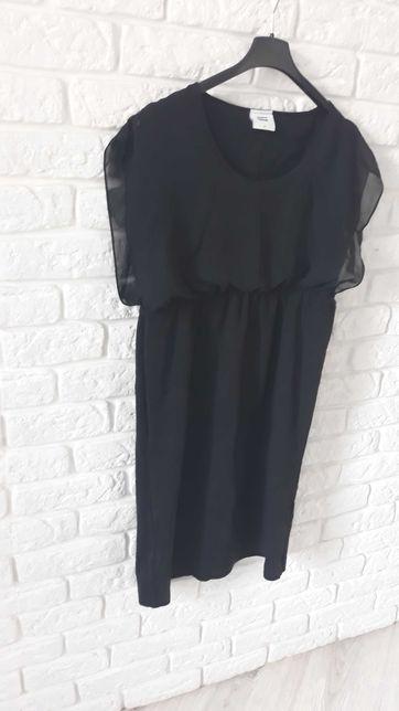 "Sukienka ciążowa ,,mała czarna"" M/L"