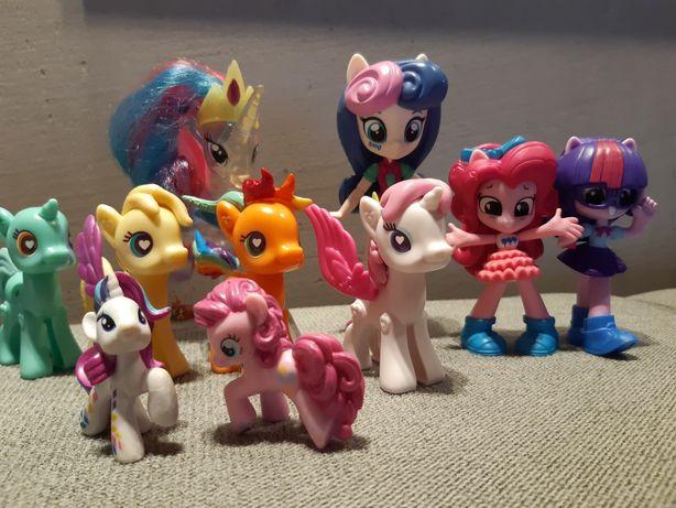 Koniki kucyki pony figurki kolekcja
