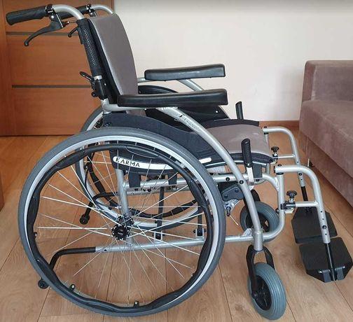 Wózek inwalidzki Karma S-Ergo 115 aluminiowy składany