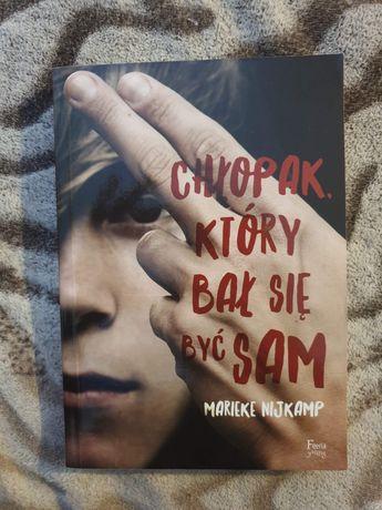 """Chłopak który bał się być sam"" - Marieke Nijkamp"