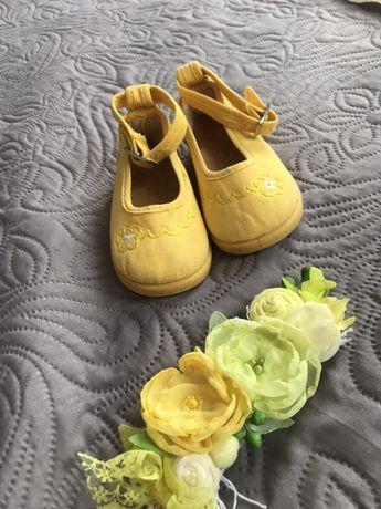Дитячі туфельки Cienta, тапочки