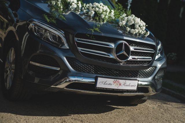 Auto do Ślubu Mercedes Gle