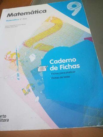 Matemática 9º Ano- Livro de exercícios