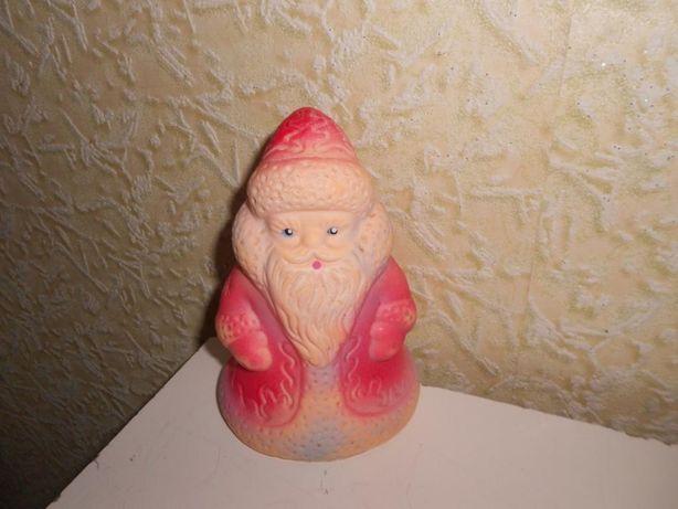 Игрушка резиновая Дед мороз СССР