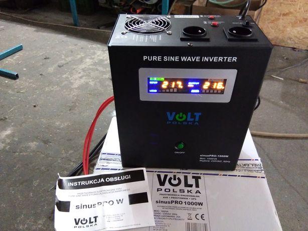 Przetwornica Volta sinus pro 1000w avr+ups+ prostownik