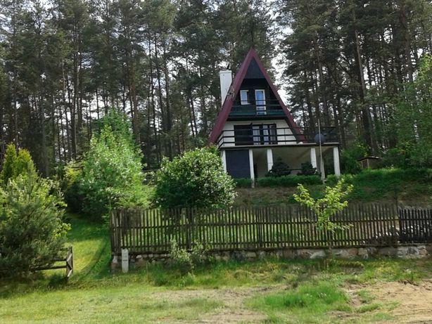 Atrakcyjny domek w lesie