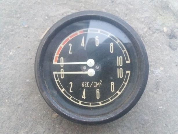 Манометр давления воздуха МД213, ЗИЛ-131, УРАЛ, КРАЗ .ссср