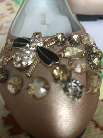 Нарядные туфли, для девочки