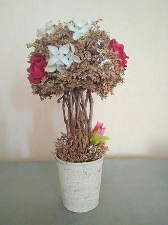 Сухоцвет. Декоративное дерево