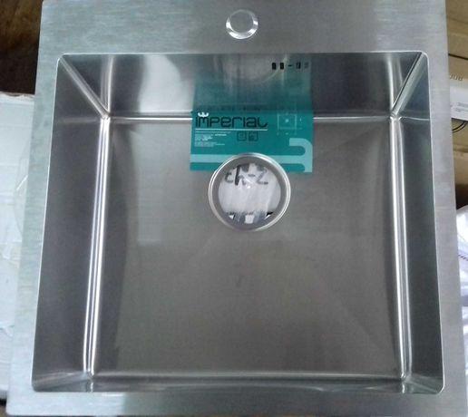 Кухонная мойка из нержавейки 3/1мм Размер 50*50см