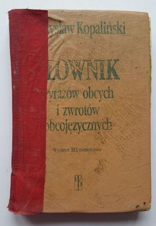 Słownik wyrazów obcych zwrotów obcojęzycznych