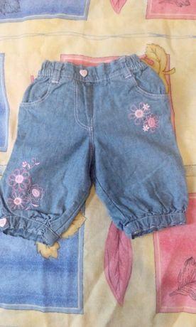 джинсовые бриджики