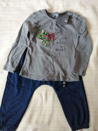 Zara Girl rozmiar 104 nowa bluzeczka tanio okazja