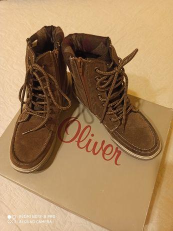 Nowe buty s. Oliwer!