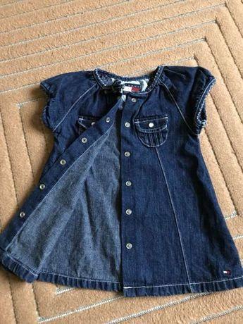 Sukienka jeansowa Tommy Hilfiger