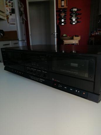Deck de cassetes Sony TC-W300