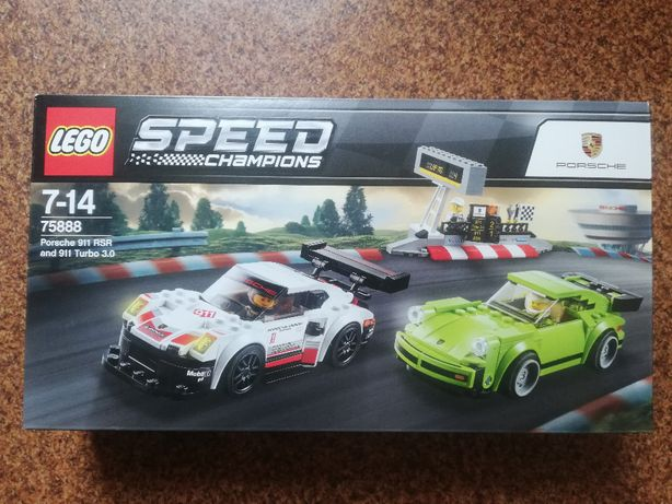 LEGO Speed Champions 75888 Porsche 911 RSR + 911 Turbo Nowy