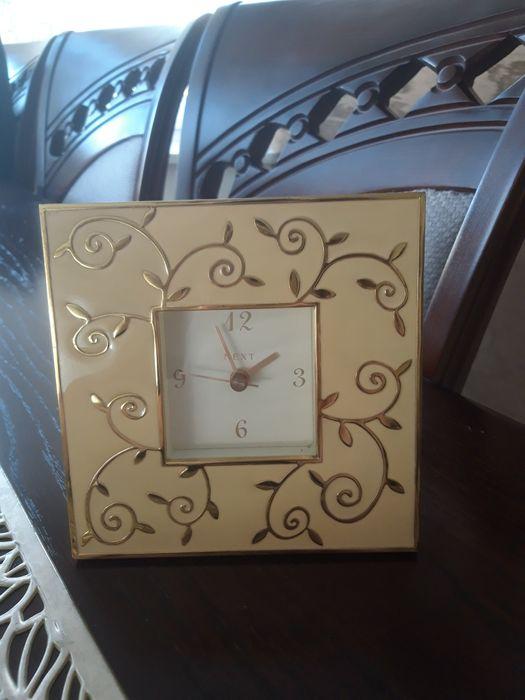 NEXT kremowo złoty dekoracyjny zegar Michałów - image 1