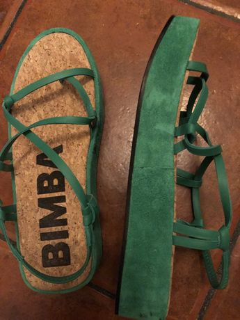 Sandalias verde Bimba Y Lola