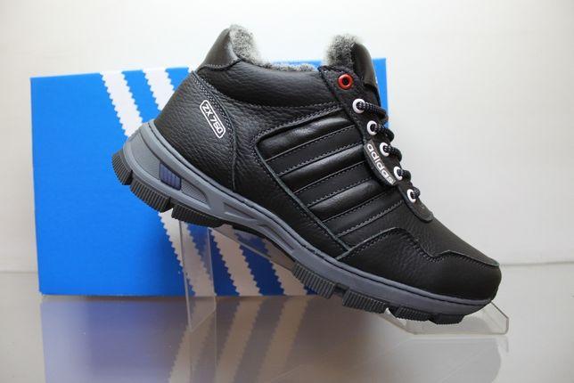 Adidas- зимние высокие кроссовки-ботинки на меху.(9-23мех)