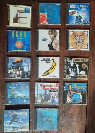Oryginalne płyty CD z lat 90, 80 muzyka pop, country, reggae, rock