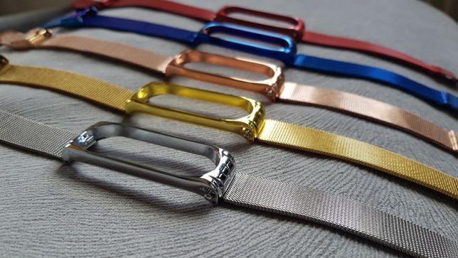 Nowa srebrna złota różowa niebieska czerwona Xiaomi mi band 4