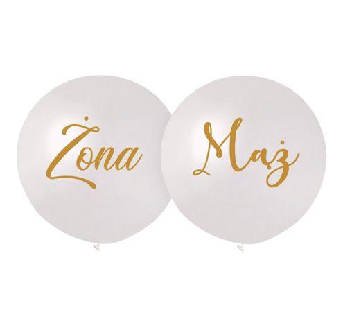 Duże balony MĄŻ I ŻONA
